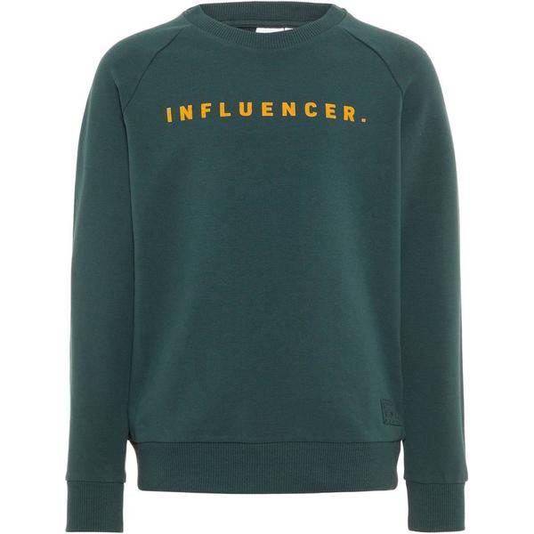 Name It Kids Statement Sweatshirt - Green/Green Gables (13170342)