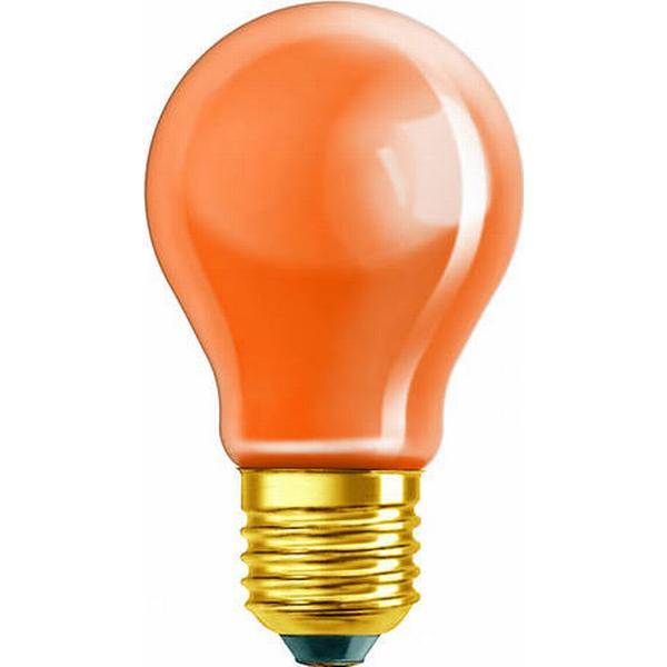 Osram Decor A Orange Incandescent Lamps 11W E27