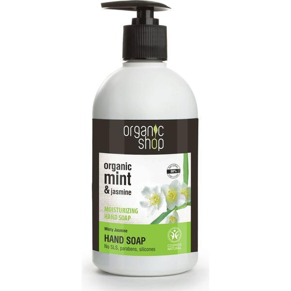 Organic Shop Minty Jasmine Moisturising Hand Soap 500ml