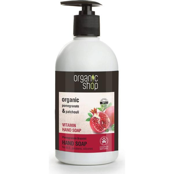 Organic Shop Pomegranate Bracelet Vitamin Hand Soap 500ml