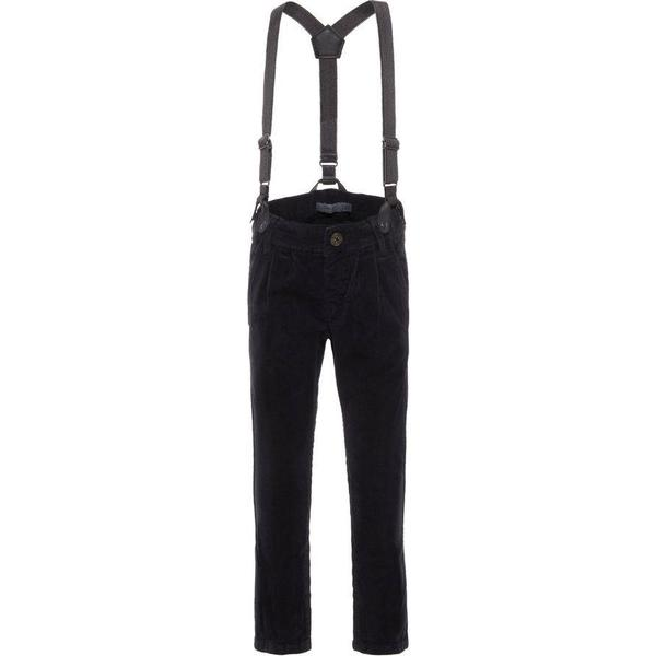 Name It Mini Corduroy Trousers - Black/Black