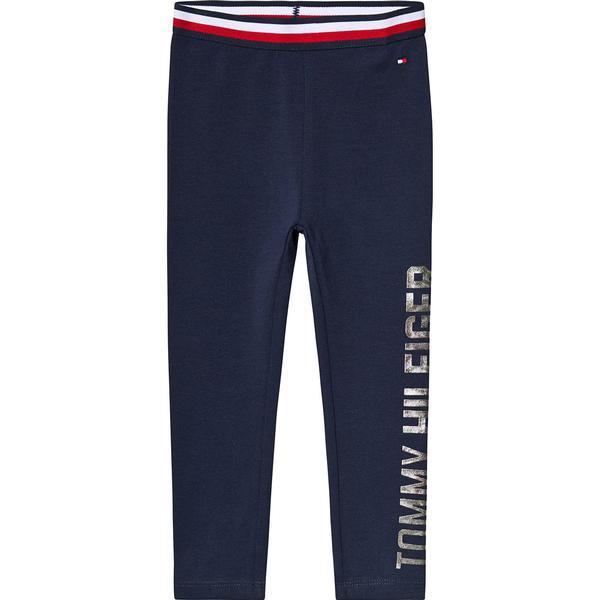 Tommy Hilfiger Essential Stretch Logo Leggings - Black Iris (KG0KG04053-002)