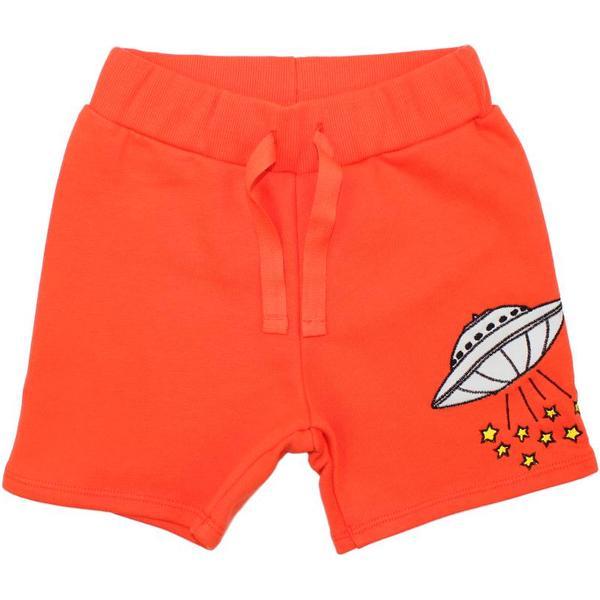 Mini Rodini UFO Sweat Shorts - Red (1863011642)