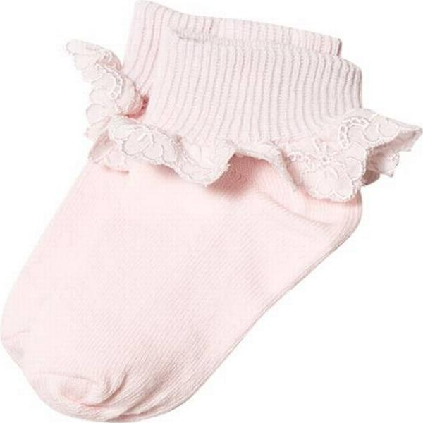 Melton Volang Baby Sock - Mother of Pearl