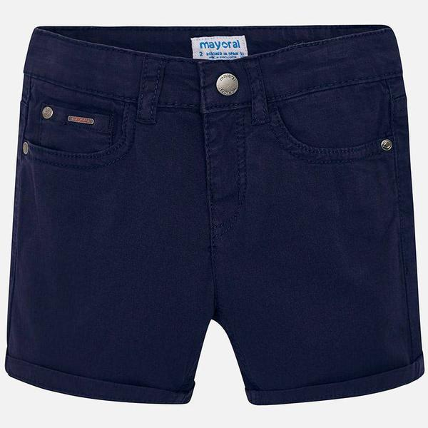 Mayoral Twill Shorts - Navy Blue (29-00204-054)