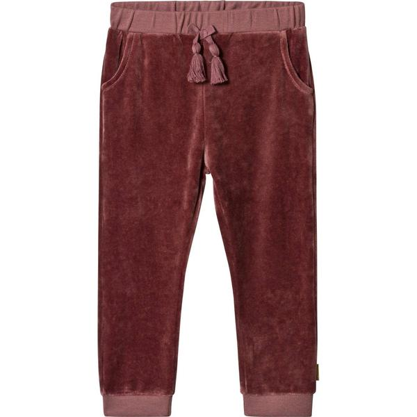 Hust & Claire Thilde Velor Joggers Pant - Red