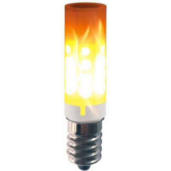 Halo Design Colors Burning Flame LED Lamps 1W E14
