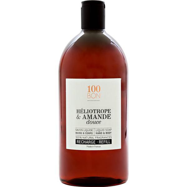 100BON Liquid Soap Heliotrope & Amande Douce 1000ml