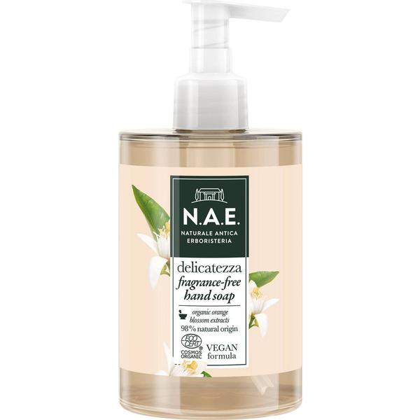 N.A.E. Delicatezza Fragrance-Free Liquid Hand Soap 300ml