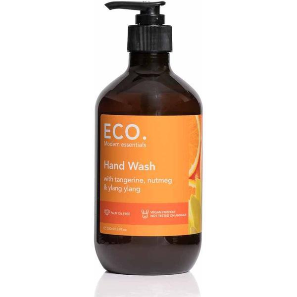 Eco Hand Wash med Tangerine Muskatnød og Ylang Ylang Olie 500ml