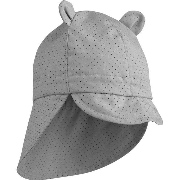 Liewood Gorm Sun Hat - Little Dot Dumbo Grey