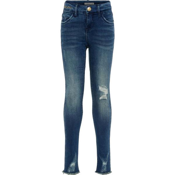 Name It Kid's Skinny Fit Jeans - Blue/Dark Blue Denim (13174512)