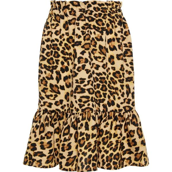 Name It Kid's Leopard Printed Skirt - Brown/Black (13174106)