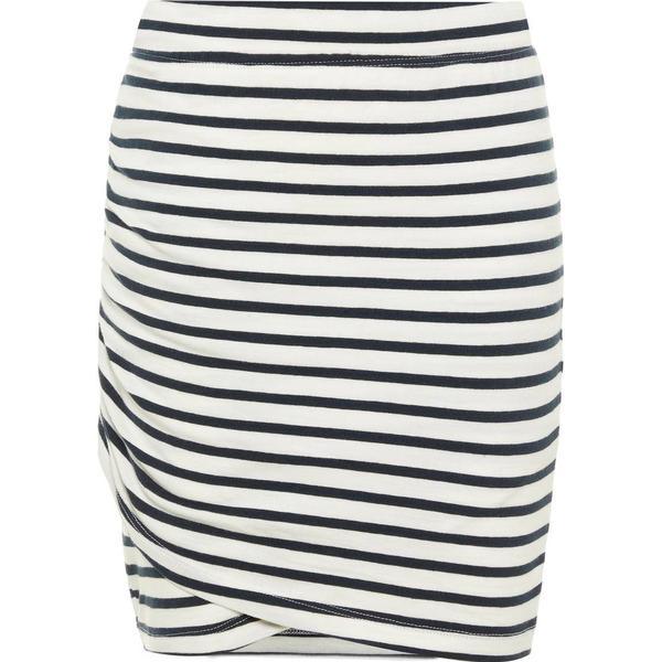 Name It Kid's Striped Cotton Skirt - Blue/Dark Sapphire (13164801)