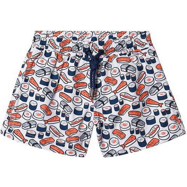 Sunuva Boys Sushi Maki Swim Shorts - Orange