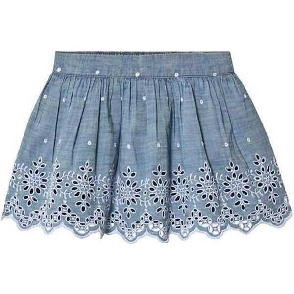 GAP Kid's Chambray Eyelet Flippy Skirt - Chambray 042 (000442248)
