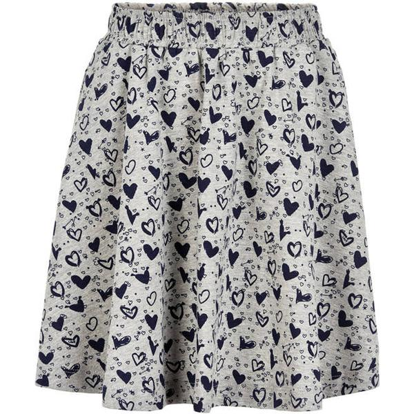 Creamie Printed Jersey Skirt - Total Eclipse (821090-7850)