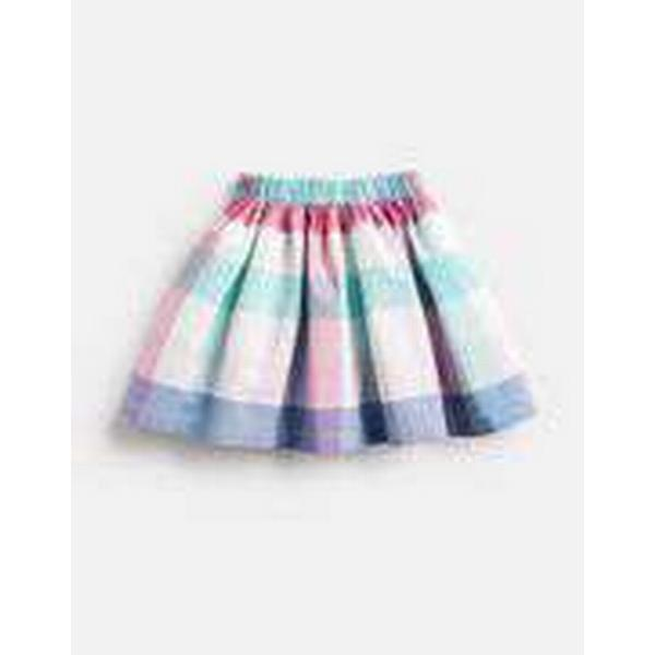 Tom Joule Ariel Woven Printed Skirt - Pink Multi Colour Check (202839)