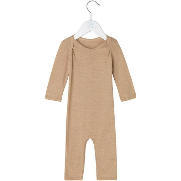 Noa Noa Miniature Boy Basic Striped Jumpsuit - Honey Mustard (2-3695-7)