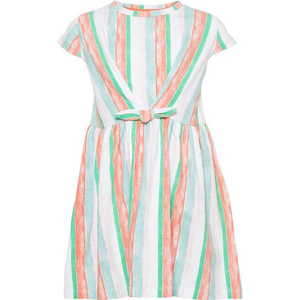 Name It Mini Striped Cotton Dress - White/Bright White (13168426)