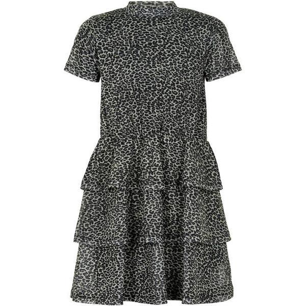 The New Klara Mesh Dress - Leopard (TN2265)