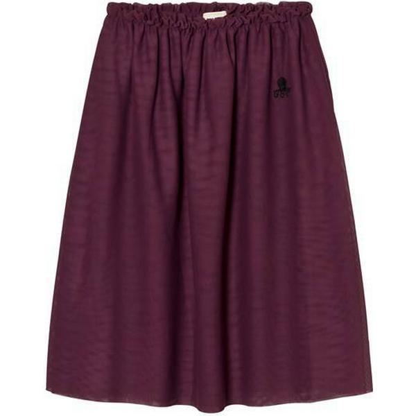 Bobo Choses Mesh Maxi Tulle Skirt - Aubergine