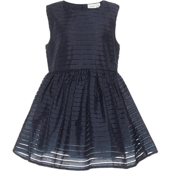 Name It Mini Striped Sleeveless Dress - Blue/Dark Sapphire (13150602)