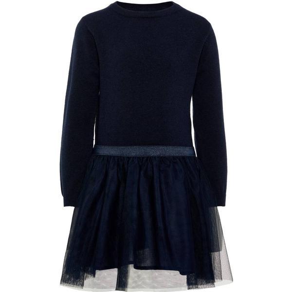 Name It Mini Tulle Dress - Blue/Dark Sapphire (13159612)