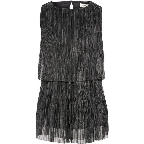 Name It Mini Glittery Plisse Dress - Black/Black (13161834)