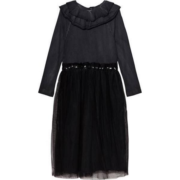 Nununu Victorian Tulle Dress - Dyed Black (NU1978A)