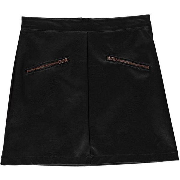 Firetrap PU Mini Skirt Junior Girls - Black Matt