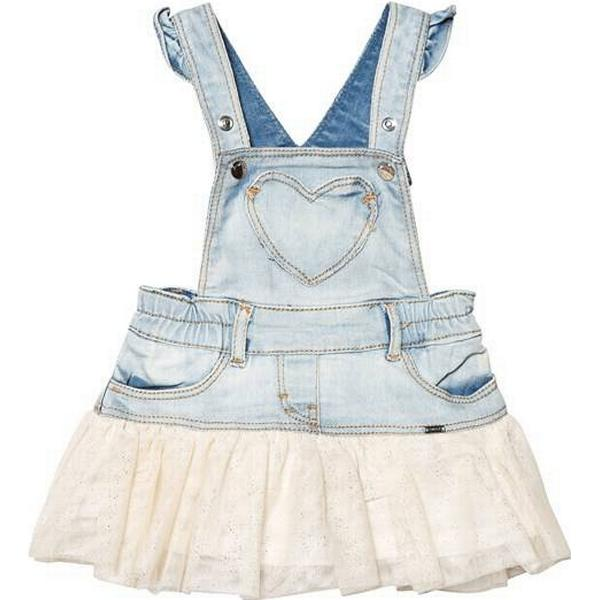 Mayoral Tulle Dungaree Skirt for Baby Girl - Champagne (29-01902-081)