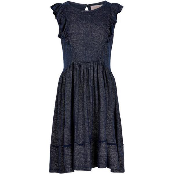 Creamie Glitter Jersey Dress - Total Eclipse (821048-7850)