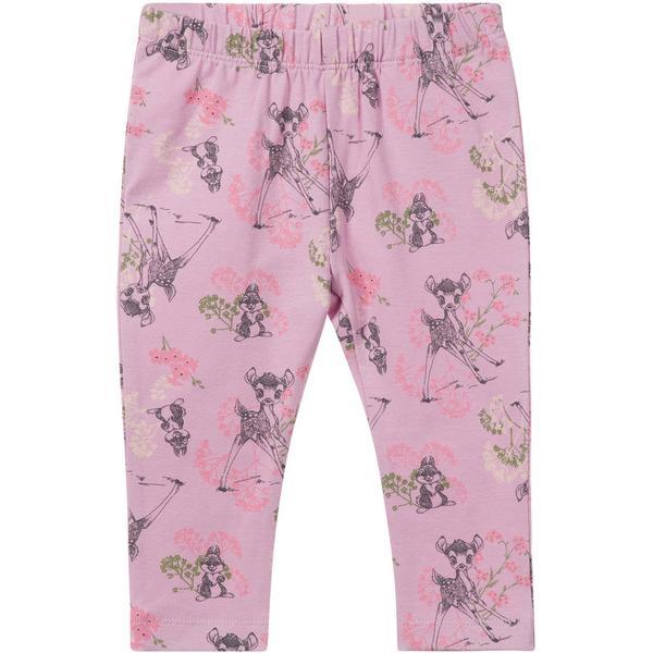 Name It Baby Bambi Print Leggings - Pink/Mauve Mist (13157675)