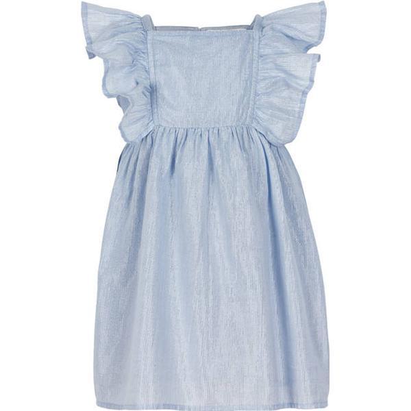 Creamie Silver Stripe Dress - Xenon Blue (840108-7749)