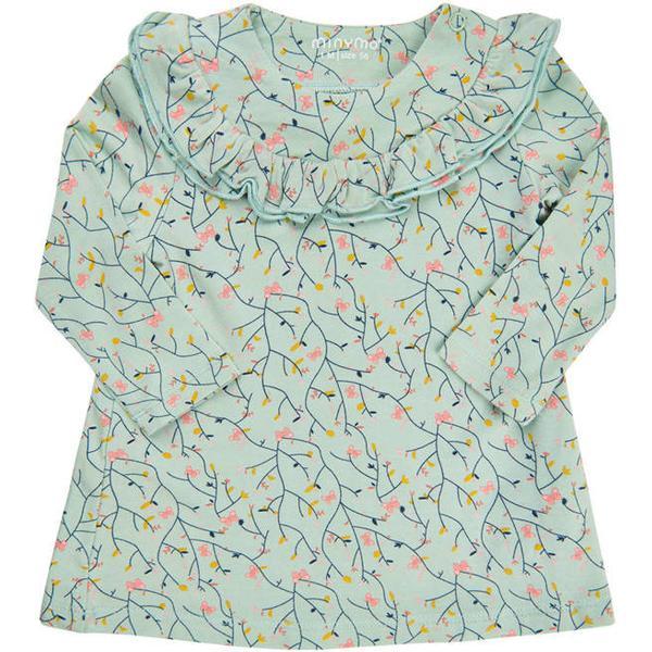 Minymo Dress - Silt Green (111004-9011)