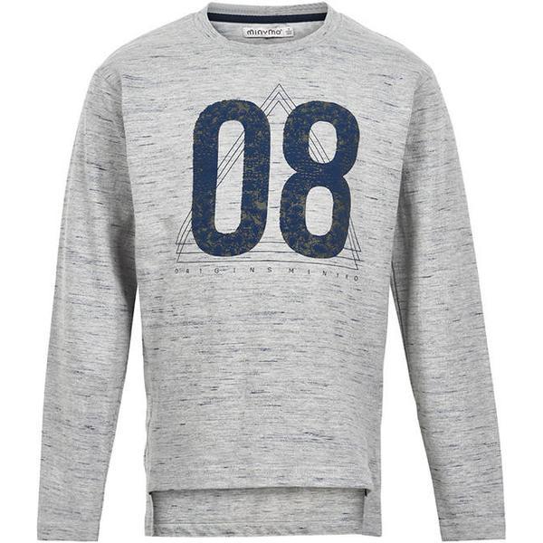Minymo T-shirt - Grey Melange (150997-1230)