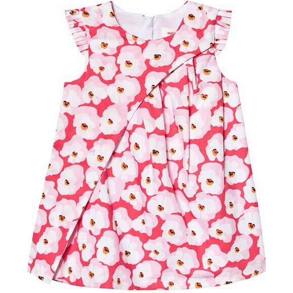 Catimini Poplin Dress Printed with Cherry Blossoms - Pink (CN30273|85)