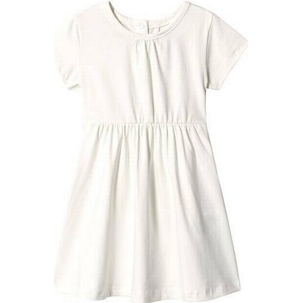 A Happy Brand Short Sleeve Dress - White (372554)
