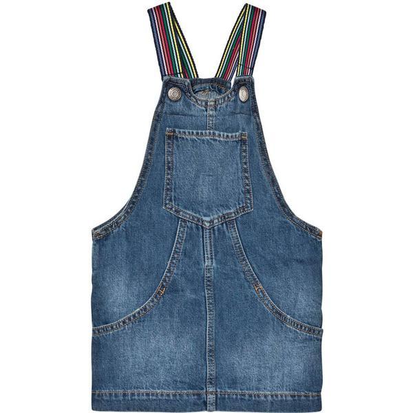 GAP Denim Dungaree Dress - Medium Indigo