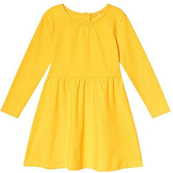 A Happy Brand Long Sleeve Dress - Yellow (372226)