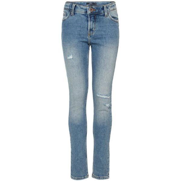Name It Teen Power Stretch Skinny Fit Jeans - Blue/Medium Blue Denim (13166585)