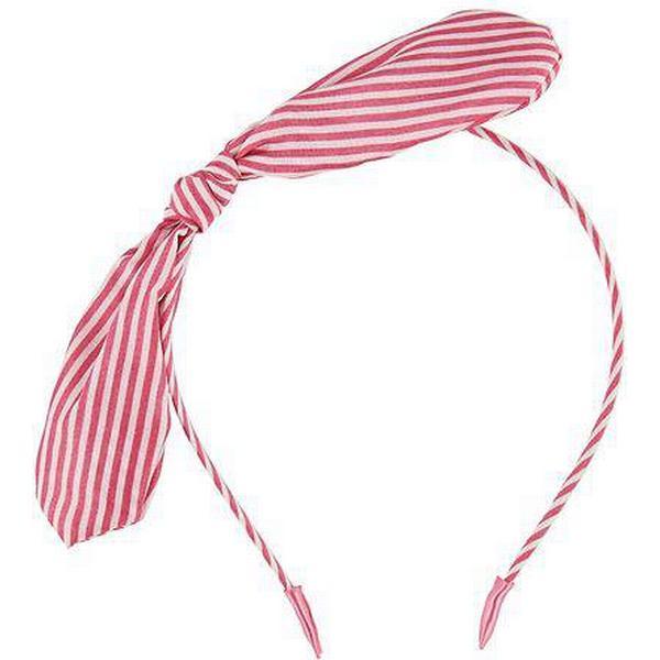 Molo Tie Bow Hairband - Fiesta Pink (7S19T801 2946)