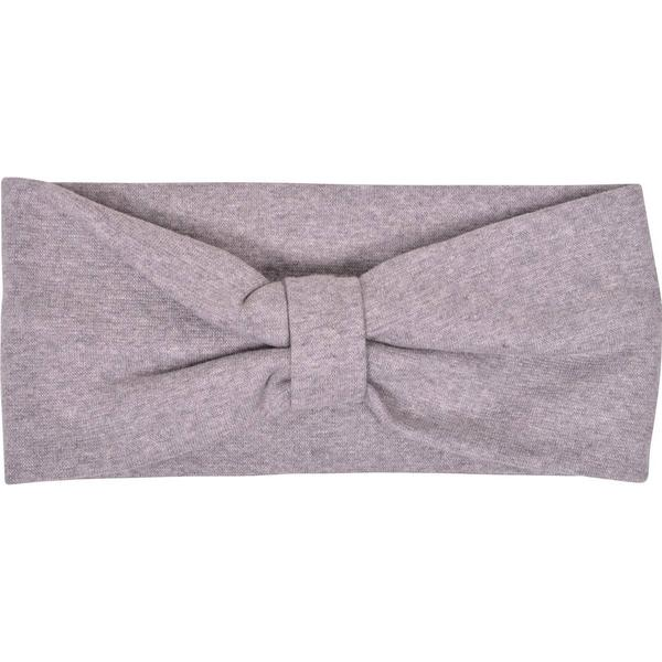 Mikk-Line Double Layered Headband - Light Grey Melange