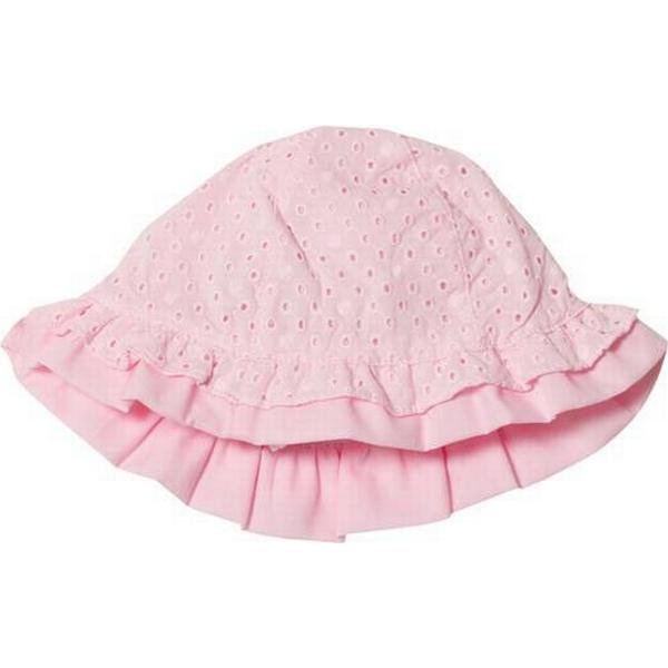 Mayoral Broderie Anglaise Bow Sun Hat - Pale Pink (257373)