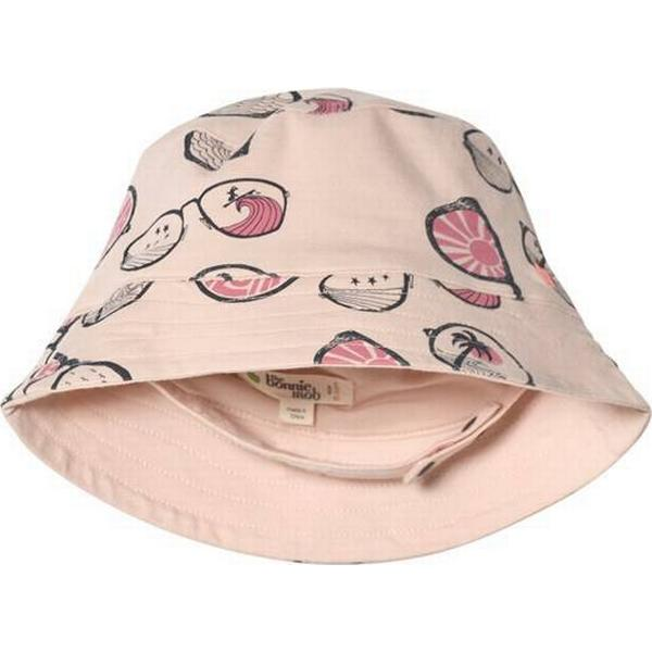 The Bonnie Mob Baby Brody Sun Hat - Pink Sunnies (282189)
