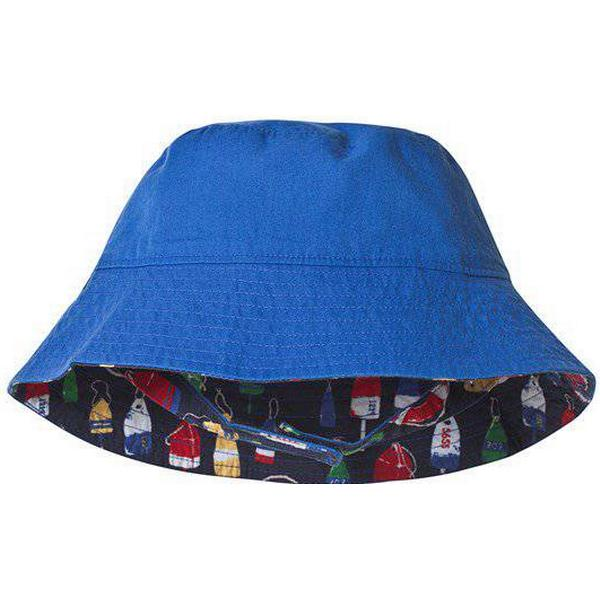 Hatley Distressed Buoys Reversible Sun Hat - Blue (S19DBK032)