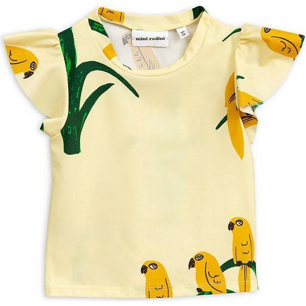 Mini Rodini Parrot Swim Top - Yellow (1968010111)