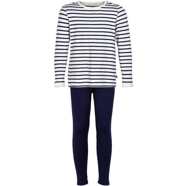 Minymo Bamboo Pyjamas - White (5211-110)