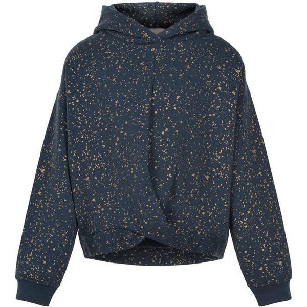 Creamie Gold Print Sweatshirt - Total Eclipse (821188-7850)